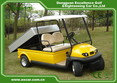 CE Approved Aluminum Chassis Hotel Electric Buggy Car For 2 Person