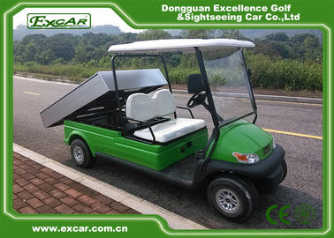 China 2 Passenger Electric Utility Carts / Electric Food Cart With 48v Trojan Batteries supplier