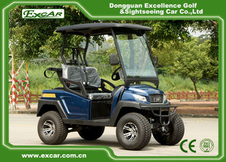 White / Black Electric Golf Cart For Hunting , Max. forward speed 45km/