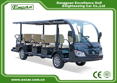 China 100% Waterproof Electric Sightseeing Cart For 14 Passenger AC system supplier