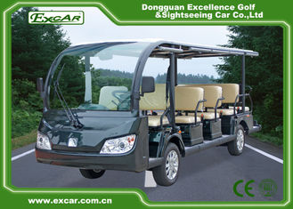 China 14 Seater Electric Sightseeing Bus , 72v Electric Shuttle Car supplier
