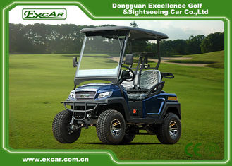 China Lead-Acid Wet Battery Powered 2 Seats Golf Carts / Electric Buggy Car Golf supplier