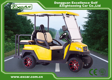 China 48 Volt 3KW Battery Powered Electric Golf Buggy Car 80-100KM Range supplier