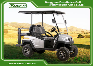 China 5KW 4 Passenger Electric Hunting Carts , 48v Battery Golf Cart supplier