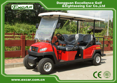 China 48V 3.7M Electric Battery Powered Golf Car , 4 Seater Buggy Car supplier