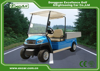 China 5kw Hotel Electric Golf Cart 350A USA Curties , Mini Electric Truck supplier
