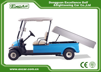 China 48V 3.7KW 2 Seater Electric Golf Carts Taly Axle / Hotel Buggy Car supplier