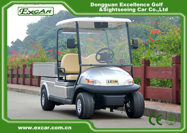 China 48V Trojan battery Hotel Buggy Car with 2 Seats Aluminum Chassis supplier