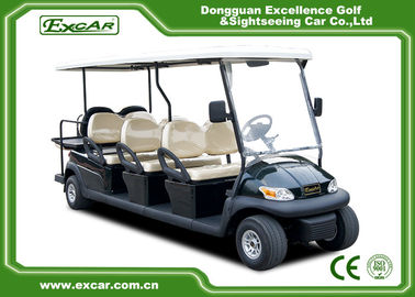 China Custom 2 Seater Electric Golf Carts 48v Trojan Battery / Electric Sightseeing Car supplier