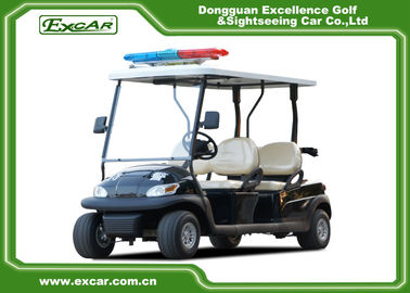 China ADC 48V 3.7KW Electric Patrol Car , 4 Person Golf Cart 1 Year Warranty supplier