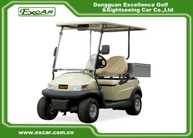 China Ce 2 Seater Electric Golf Car Italy Graziano Axle 48v Trojan Battery supplier