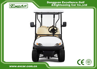 China 6 Seater Tourist Use Used Electric Golf Carts / Electric Sightseeing Bus Trojan Battery supplier