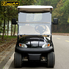 China Most Popular 2 Seats Electric Golf Carts With Cloak , 100 Waterproof Accelerator supplier