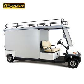 China 2 Person Al Rear Cargo Box Utility Golf Carts With 1 Year Warranty Time supplier