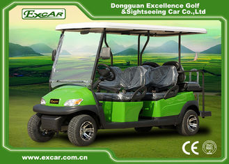 China Excar CE approved 6 seat Electric golf car,48V Trojan battery golf buggy car supplier