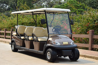 6 Seater Electrical Golf Buggy Car With Lead Acid Battery Or Lithium Battery 48V