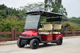KDS Motor 4 Person Golf Cart WIde And Soft Seat Bottom And Backrest