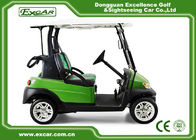 China EXCAR 2 Passenger Golf Carts With 3.7KW Motor Italy Graziano Axle factory