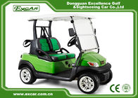 China EXCAR ADC Motor 2 Seater Electric Powered Golf Carts Aluminum Chassis company