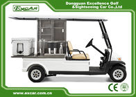China 2 Passenger Electric Food Cart For Park Services White Food Golf Cart company