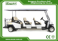 China ISO Approved Electric Sightseeing Car 48V Trojan Battery Electric Passenger Car factory