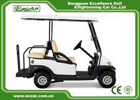China CE Approved Used Club Car Golf Carts 4 Seater White Color Lead - Acid Batteries factory