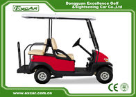 China Electric Golf Carts With 17A Off Board Charger 4 Seaters Red/Trojan Battery factory