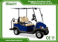 China Blue Golf Carts With Trojan Battery/Curtis Controller/ADC Motor factory