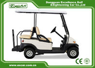 White Used Electric Golf Carts With Trojan Battery CE Approved 4 Seater 275A