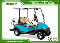 China EXCAR Trojan Battery Mini Electric Golf Car Unique Accelerator 4 Seater factory