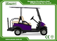 EXCAR Four Wheel Battery Operated Golf Buggy Mini Type Purple Color