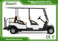 China EXCAR  CE Approved Hotel Elegant 6 Person Electric Golf Buggy/Trojan Battery factory