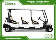 China EXCAR CE Certificate Electric Golf Cart 48V Trojan Battery Electric Golf Carts factory