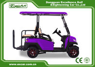 China 4 Wheel Fuel Type Battery Operated Golf Cart 350Ah 3700w CE Certificated factory