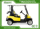 China Excar 2 Seats Yellow Electric Golf Car With Disc Brake/Trojan Battery factory