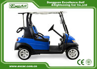 China Golf Course Battery Powered Golf Buggy 2 Seater With Trojan Battery factory