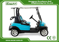 China 48V Electric Golf Car With Aluminum Chassis 2 Person Special Disc Brake factory