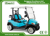 China Light Blue Color 2 Seats Golf Carts With Special Disc Brake/Trojan Battery factory