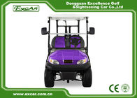 China Purple Electric Golf Car 2 Passenger Electric Golf Carts Trojan Battery factory