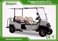 Grey Fuel Type Electric Golf Car With CE Certificate 350A Controller