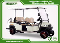 China 350A Controlller Electric 6 Person Golf Cart 48V Trojan Battery factory