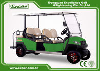 China 6 Seat Electric Golf Carts 4 Wheel Golf Cart With ISO Certificated factory
