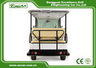 EXCAR white 14 Seater Electric Sightseeing Cart  electric shuttle bus tour bus for sale