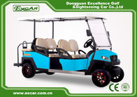 China Electric Golf Carts With Italian Gearbox Sky Blue Easy Go Golf Cart factory