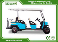Electric Golf Carts With Italian Gearbox 6 Seater Fuel Trojan Batteries Golf Cart