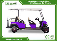 China 6 Passengers Electric Golf Carts 350A Controller Electrical Golf Car factory