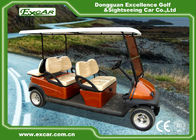EXCAR Club Car Electric Golf Buggy cart Brown Red For 4 And 2 Passenger