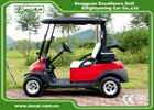 China EXCAR CE Certificated Approved Golf Cart White Seat For Golf Course factory