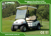 China EXCAR 2 Seater Used Electric Golf Carts 48V Trojan Battery 25KM / H ADC Motor factory