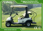 China 2 Person Mini Electric Golf Carts 25Km / H 48V Trojan Battery CE Approved factory